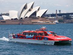 シドニーハーバー・エクスプローラー Captain Cook Cruises-([ホップオン&ホップオフ・クルーズパス])