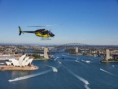 シドニーハーバー・シーニック・ヘリコプターフライトツアー
