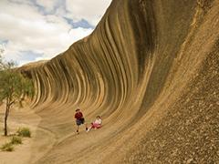 ウェーブロック&アボリジニ洞窟の壁画ツアー・Adams Pinnacles Tours[パース発]