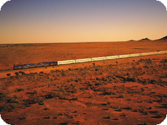 ����ǥ�����ѥ��ե��å��������ξ������ɥ����ӥ����饹-(Indian Pacific Gold Service Class)
