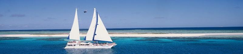 白砂の島・ミコマスケイクルーズ・ケアンズ発[Ocean Spirit Cruises社]