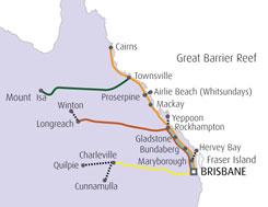 クイーンズランド・エクスプローラーパス-(Queensland Explorer Pass)