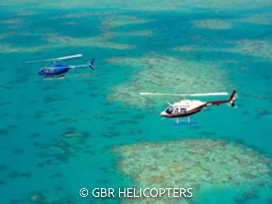 ポートダグラス発 ヘリコプターシーニックフライト