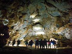 ケアンズの洞窟探検チラゴー&アウトバックツアー