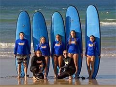 サーフィンレッスン・ゴールドコースト Go Ride A Wave社