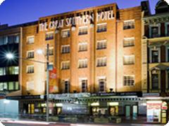 グレーとサザンホテル・シドニー