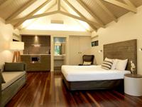 ハミルトン島 パームバンガローのお部屋