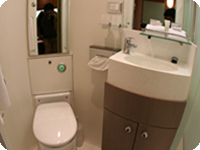 快適なバスルーム