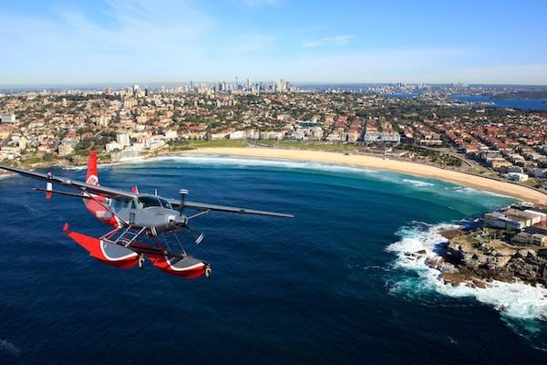 水上飛行機で行くシーニックフライトツアー・シドニー