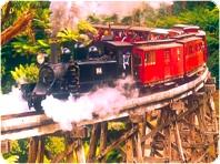 蒸気機関車パッフィンビリー鉄道