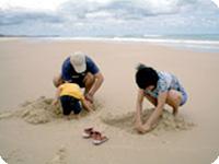 ビーチ・トレッカーズノース・ストラドブローク島・ゴールドコースト発