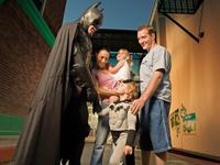 バットマンと記念写真