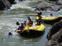 タリー川1日ラフティング