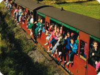 パッフィンビリー鉄道と子供達
