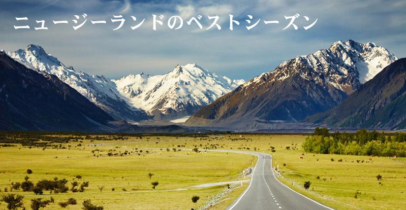 ニュージーランドのベストシーズン
